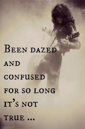 Dazed and Confused. Led Zeppelin