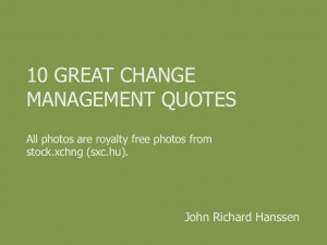 Funny Quotes About Change Management