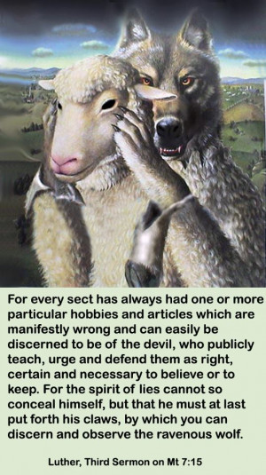 The Alpha Male Wolf-- Model of many pastors and churches