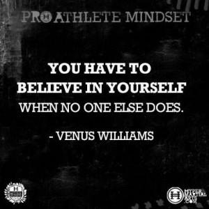 Venus Williams Quote