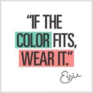 Essie nail polish colour quote