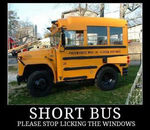 car-humor-funny-joke-road-street-drive-driver-short-school-bus-licking ...