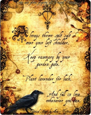 practical magic quotes about love | Practical Magic for a Happy ...