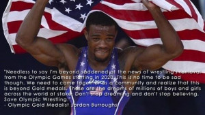 The dream of wrestling and Olympics is and will always be the most ...