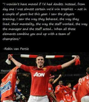 Soccer #Quotes - Robin Van Persie