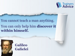 Trainer's Quote of the Week by Galileo Galilei