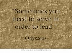 Is odysseus a good leader