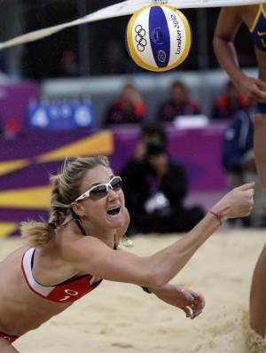 Mens Beach Volleyball Preliminary Round - USA v RSA