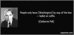 More Claiborne Pell Quotes