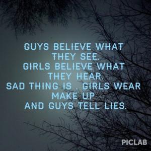 guys #girls #belive #sad
