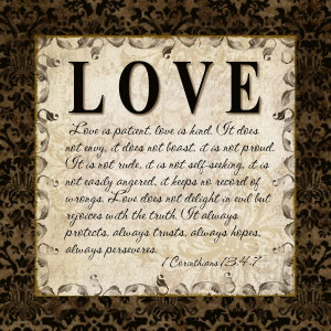 Bible Quotes About Love And...