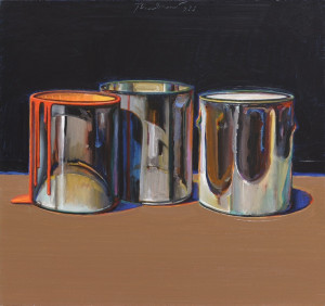 Thiebaud Wayne 1920 Paint Cans