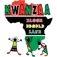 Kwanzaa t-shirts design | Many different Blood People Land Kwanzaa ...