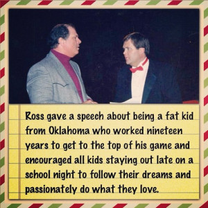 Pro wrestling is life. Inspiring quote. #jimross #billwatts (Taken ...