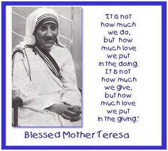 Great life of Mother Teresa, Saint with a true heart :-