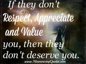 Being disrespected repeatedly is not fun. It wears you down and breaks ...