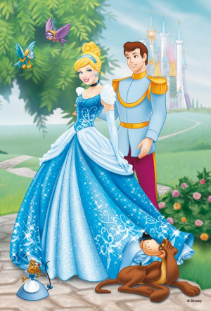 Disney Princess Cinderella and Prince Charming