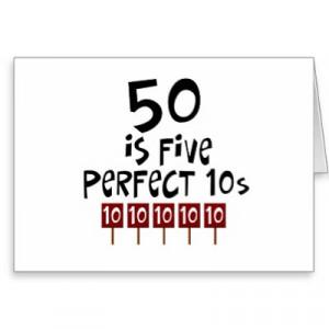 Sayings for turning 50