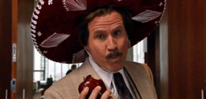 ... for Adam McKay's Anchorman: The Legend Continues , via YouTube