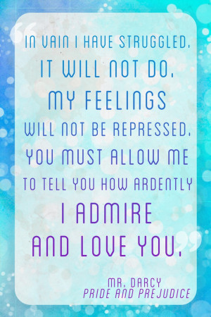 Pride and Prejudice Quote
