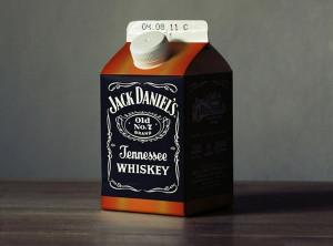 Jack Daniels in a Milk Carton - Image