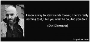 More Shel Silverstein Quotes
