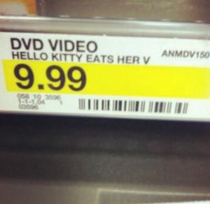 Hello Kitty eats…