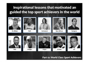 Inspirational Quotes: Sport Achievers