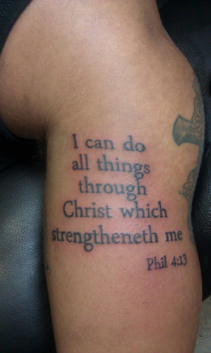 ... tattoos 2012 2015 doingbigthings bible verse tattoo phil no