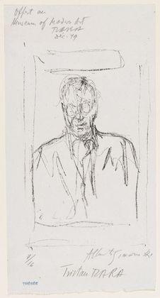 Alberto Giacometti Tristan Tzara 1949