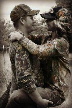 couples #camo #cute
