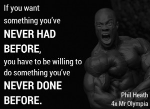 The real workout starts when you want to stop. - Ronnie Coleman, 8 ...