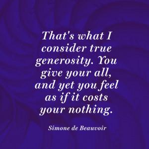 Quotes About Generosity Quotes about generosity