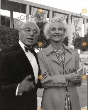 George Cukor Photo George Cukor and Frances Goldwyn Photo Nate