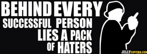haters quote fb cover