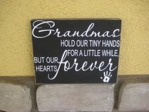 Grandmas Hold Our Tiny