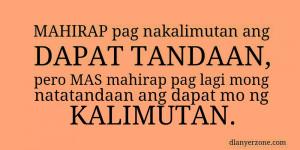 Tagalog Love Quotes Typos