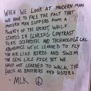 Bathroom stall wisdom
