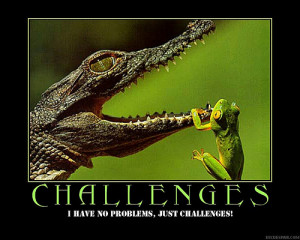 ... challenges Motivational Quote on Challenges Motivational Quote on