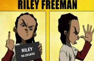 Huey Freeman Only Speaks The Truth / Just A Fan Of Aaron McGruder's ...