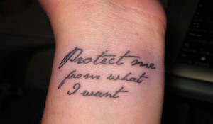 wrist women quote color tattoo quotes for women on the wrist tattoo ...
