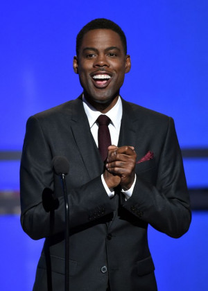 Host Chris Rock Picture: Getty Images for BET