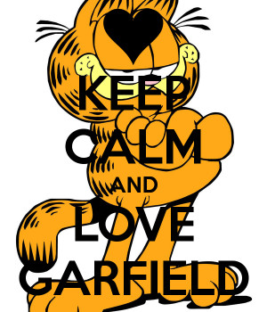 free garfield in love line giving u love garfield picture garfield ...