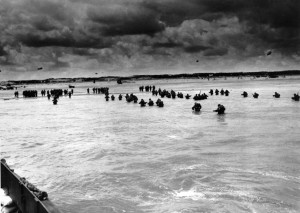 ... in the days following the Allies' June 1944, D-Day invasion of France