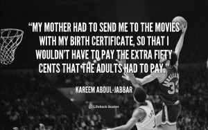 kareem abdul jabbar quotes and sayings