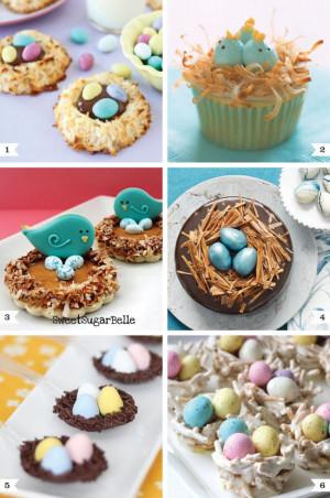 Bird's nest desserts for Easter. Making #6 for an Easter egg hunt on ...