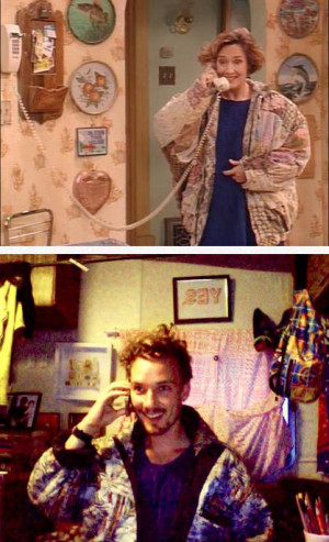 hipsters who dress like jackie from roseanne