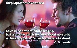 Not Feeling Loved Love is not affectionate