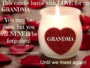 My Grandma In Heaven