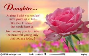 ... happy birthday my beautiful happy birthday to my beautiful daughter